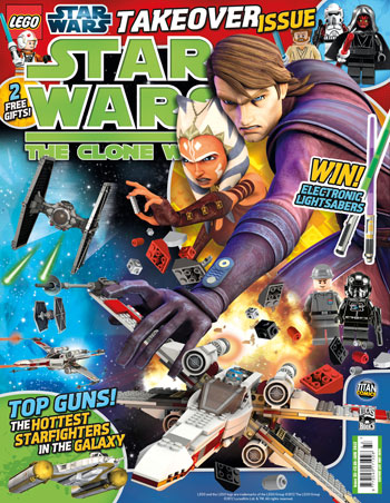 Star Wars: The Clone Wars Comic UK 6.33
