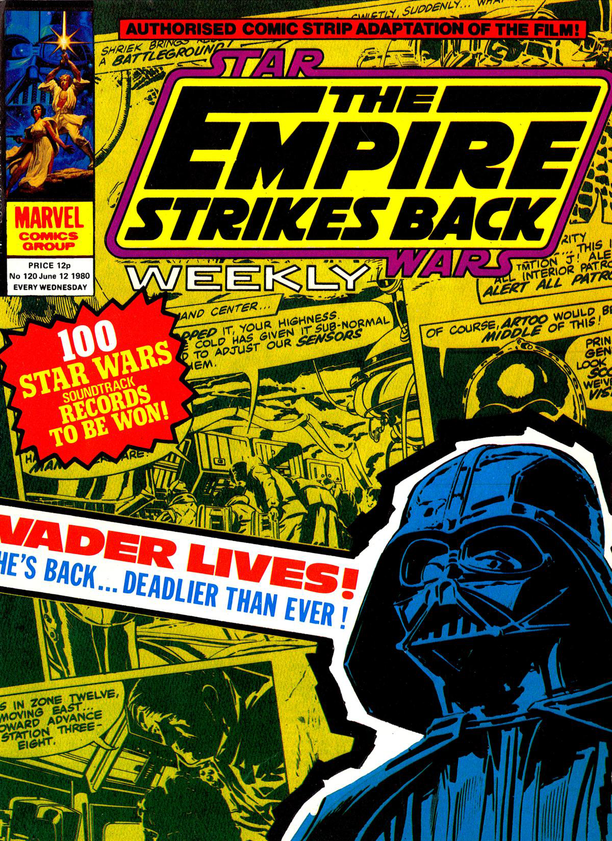 The Empire Strikes Back Weekly 120