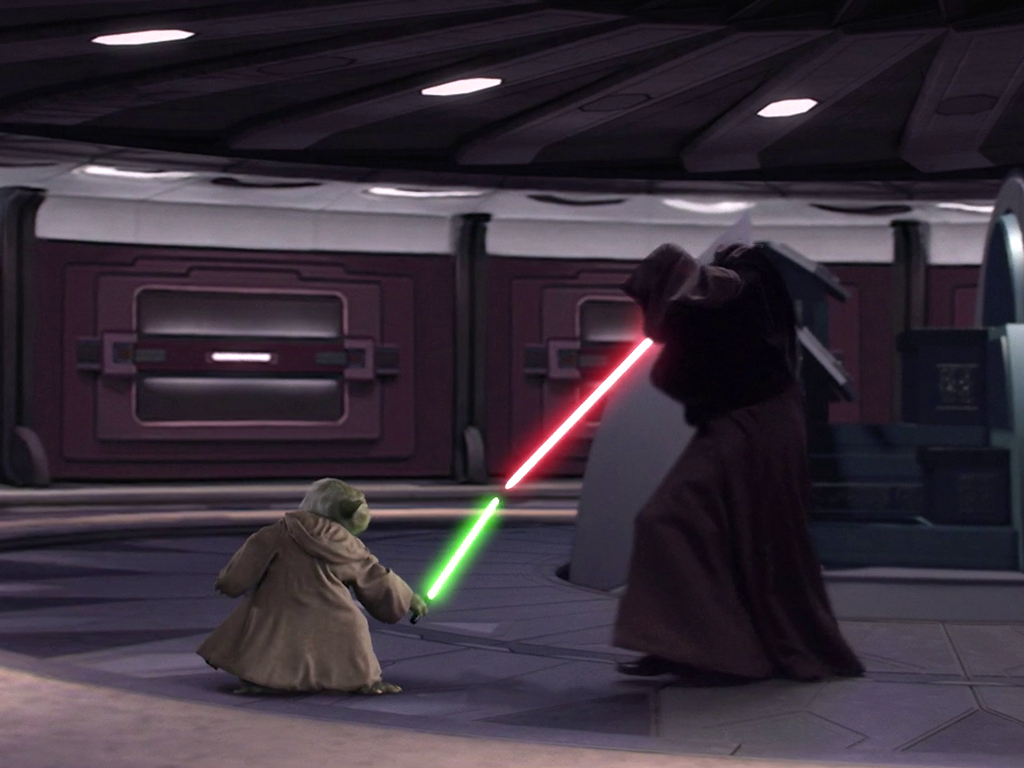 Duel in the Galactic Senate