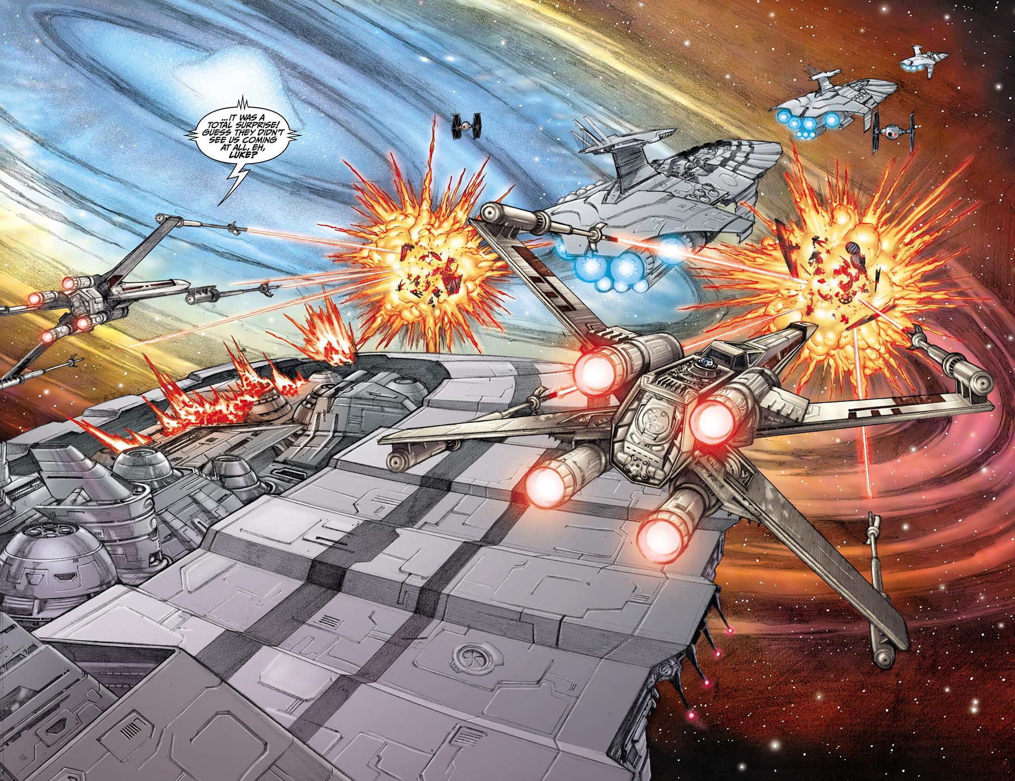 Raid on an Imperial cargo convoy