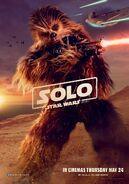 Chewbacca UK Character Poster