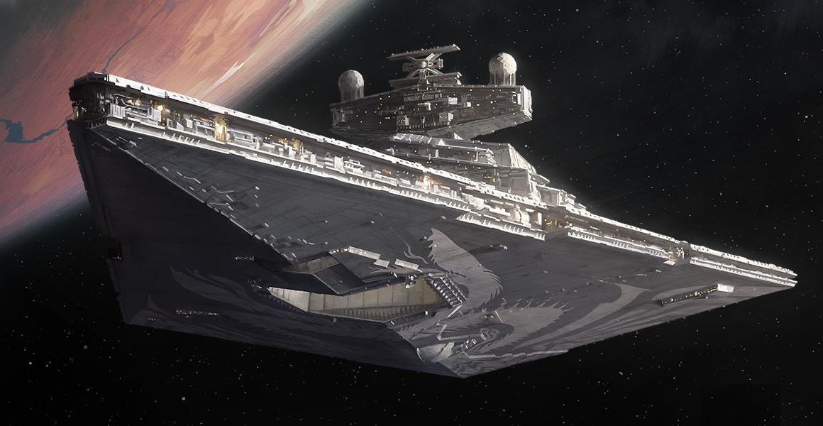 Chimaera Near Mint Thrawn/'s ship DEATH STAR II star wars ccg swccg