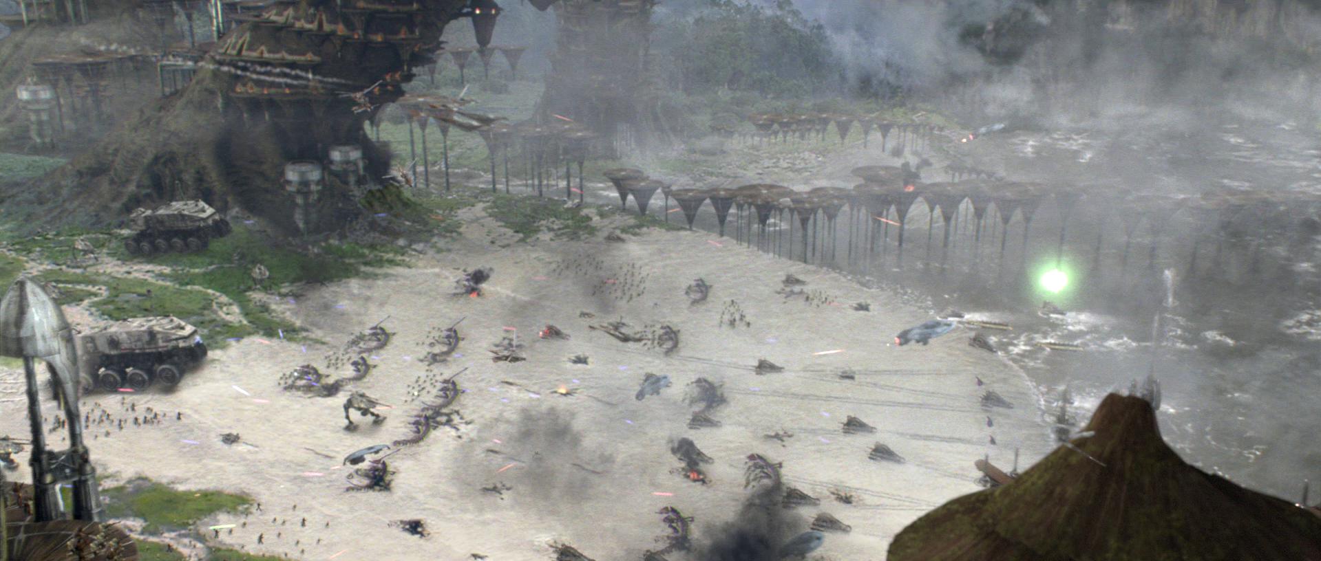 Battle Of Kashyyyk Wookieepedia Fandom