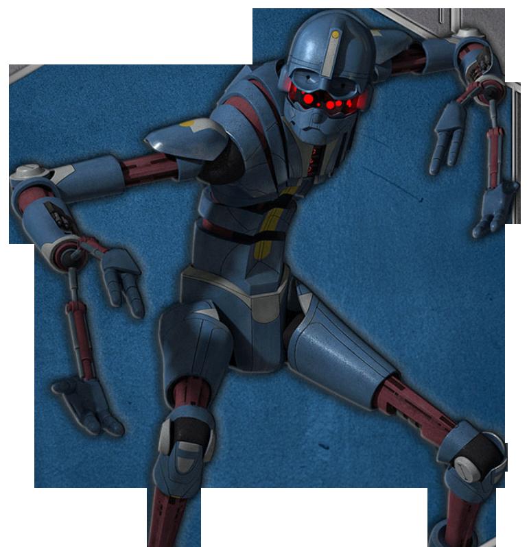 E-XD-series infiltrator droid