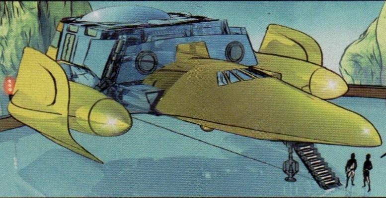 Leia Organa's ship