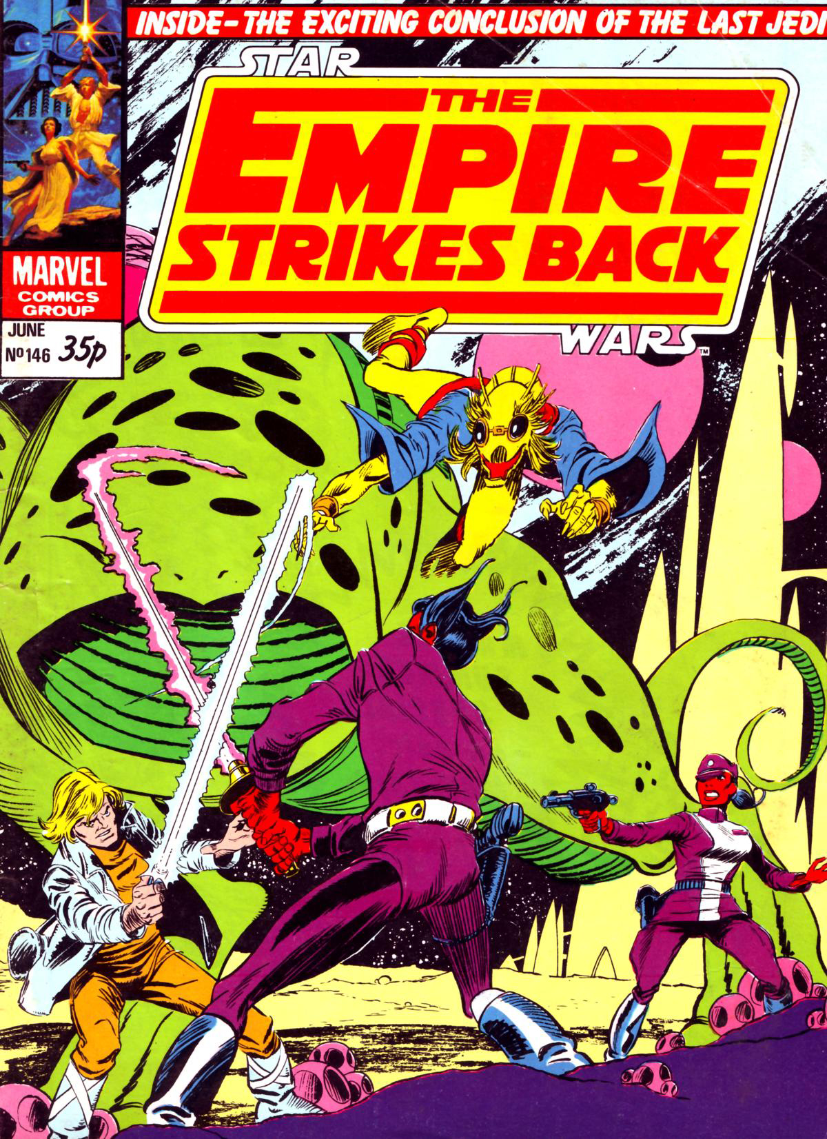 The Empire Strikes Back Monthly 146