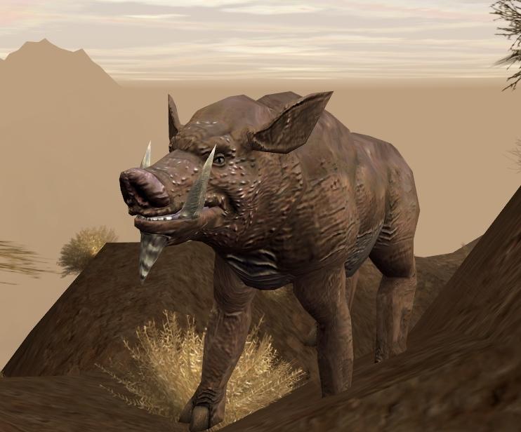Bladeback boar/Legends