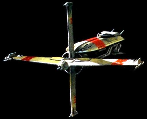 CF9 Crossfire starfighter