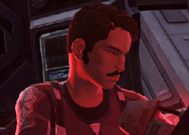 Unidentified male Imperial technician (Darth Marr's flagship)