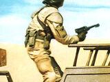 Unidentified mercenary pilot
