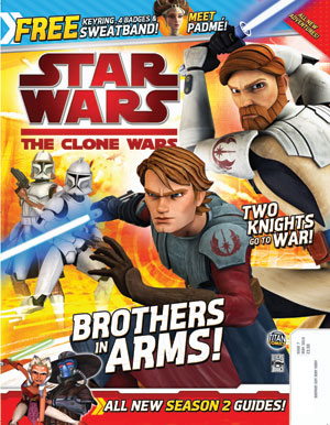 Star Wars: The Clone Wars Comic UK 6.7