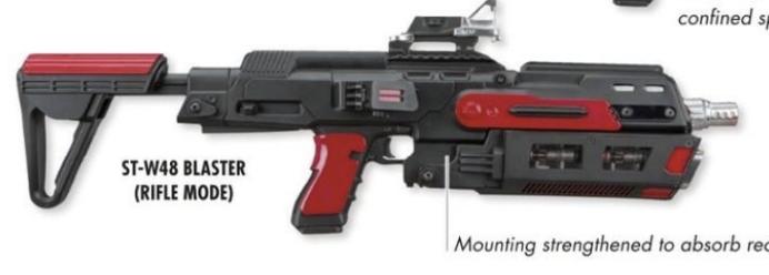 ST-W48 blaster