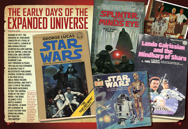 The Early Days of the Expanded Universe