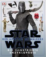 The Rise of Skywalker Illustrated Encyclopedia German cover