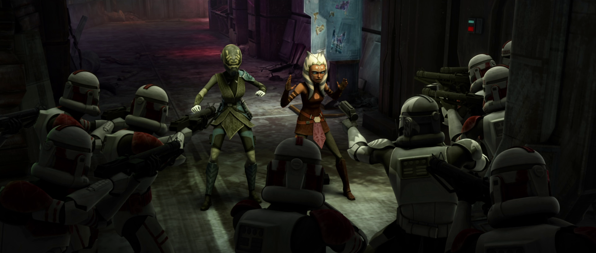 Capture of Ahsoka Tano