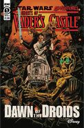 Star Wars Adventures Ghosts of Vaders Castle cover A lettered