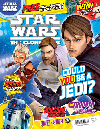 Star Wars: The Clone Wars Comic UK 6.20