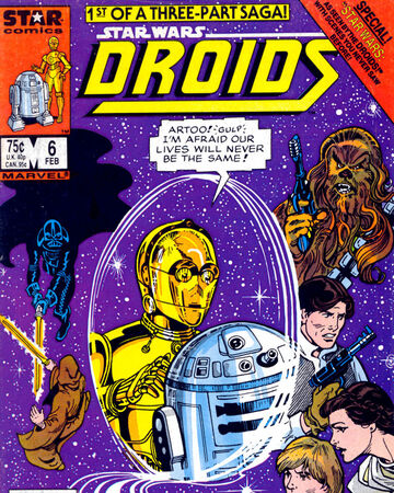 Darth And Droids Comic Star Wars Droids 6 Star Wars According To The Droids Book I Wookieepedia Fandom star wars droids 6 star wars according
