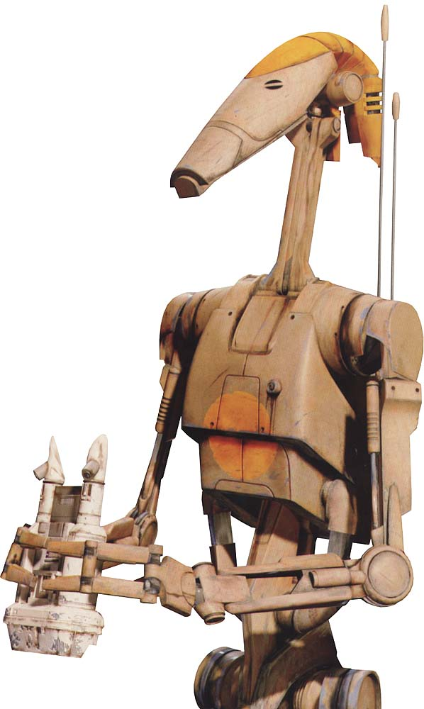 OOM Command Officer Battle Droid