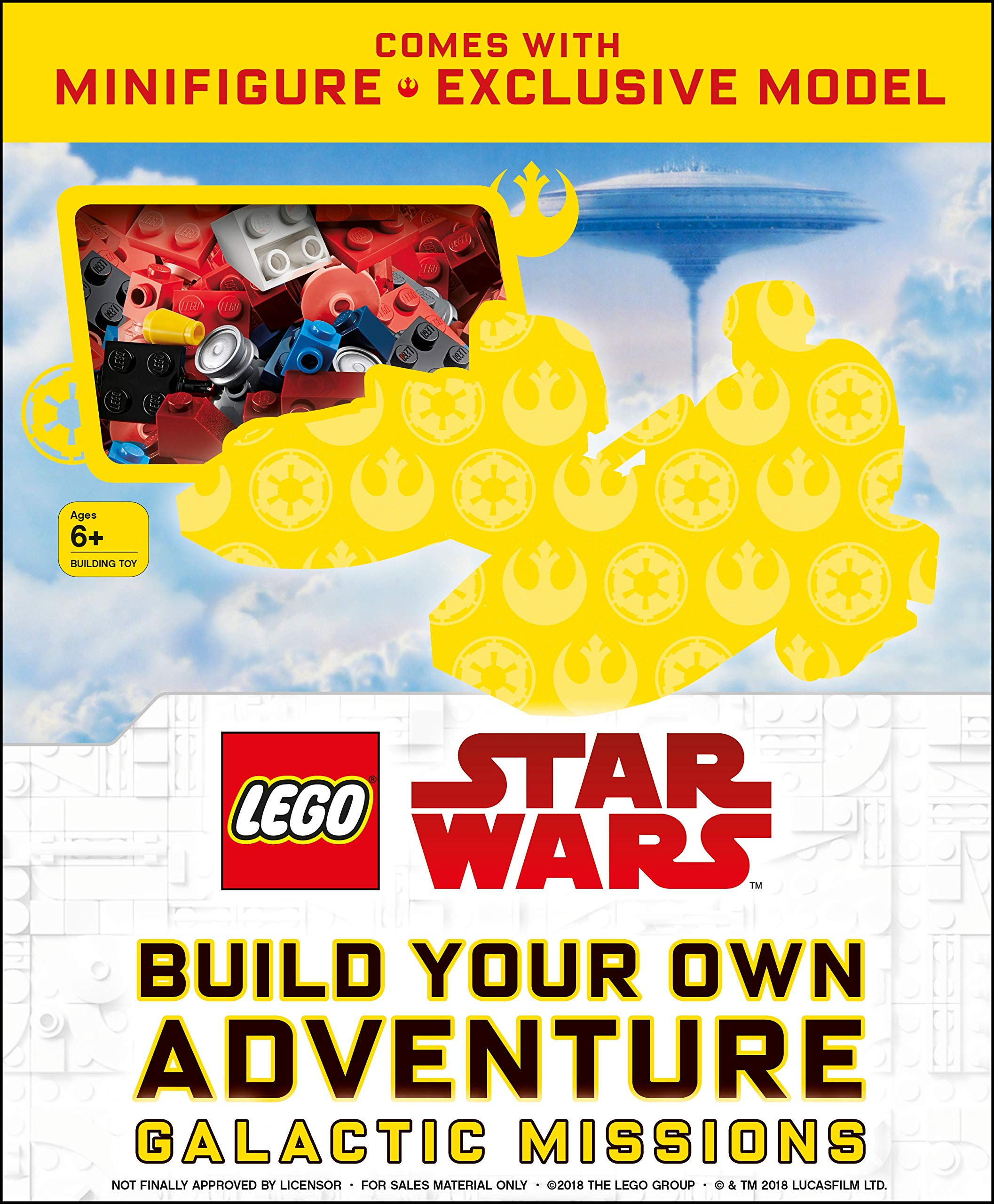 Build Your Own Adventure Galactic Missions