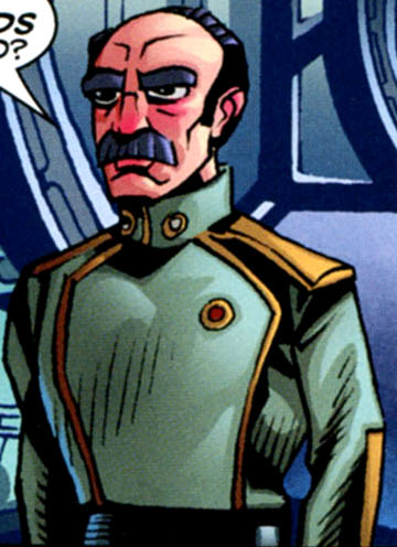 Unidentified captain of Starcrusher