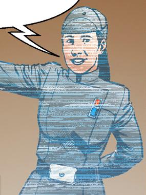Unidentified female Imperial officer (propaganda)