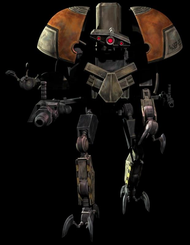 Infiltrator demolition droid