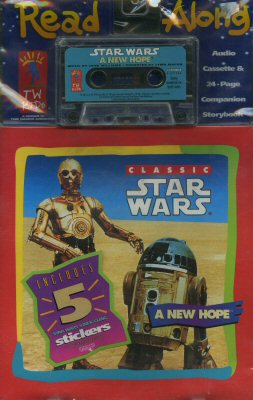 Classic Star Wars: A New Hope (book-and-tape)