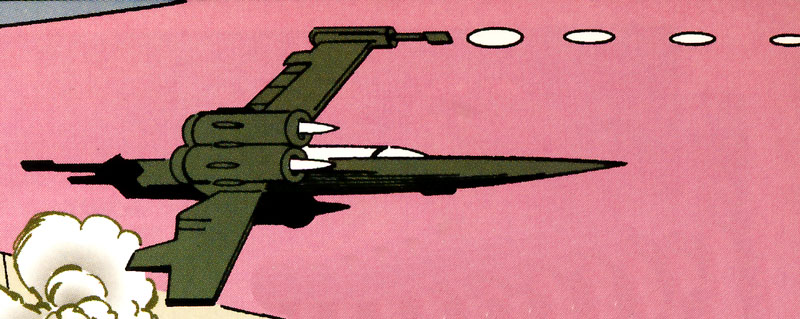 Tott Doneeta's starfighter