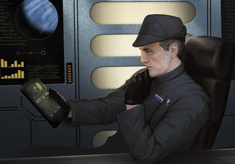 Unidentified duty officer
