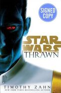 Thrawn signed edition cover