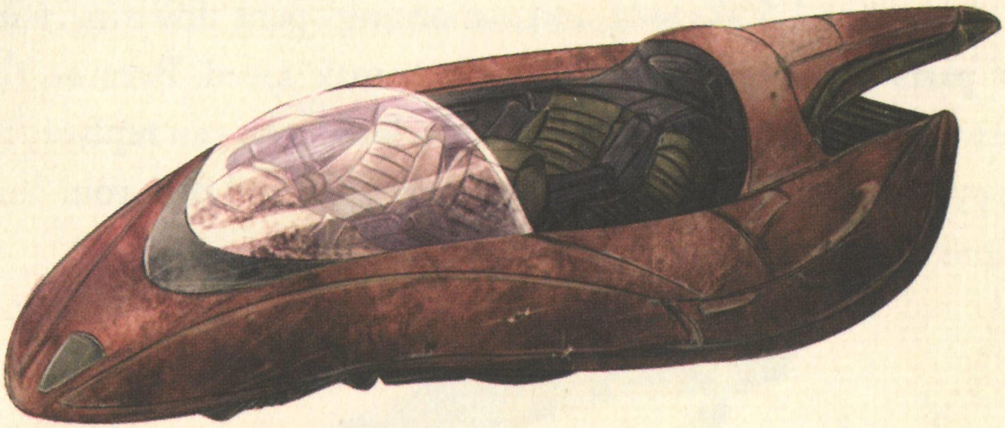 BAX-7 landspeeder