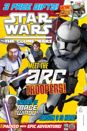 Star Wars: The Clone Wars Comic UK 6.13