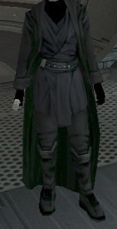 Dark Jedi robe