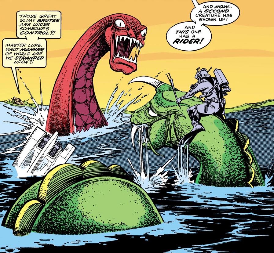 Sea-dragon