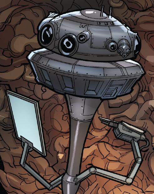 Darth Vader's droid