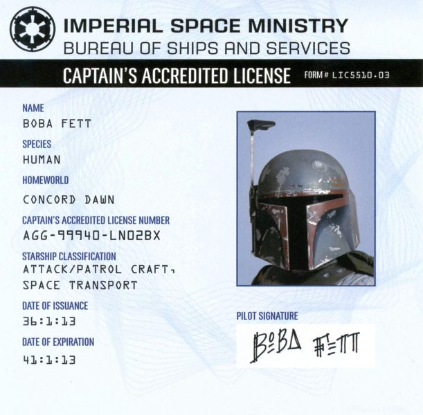 Captain's Accredited License