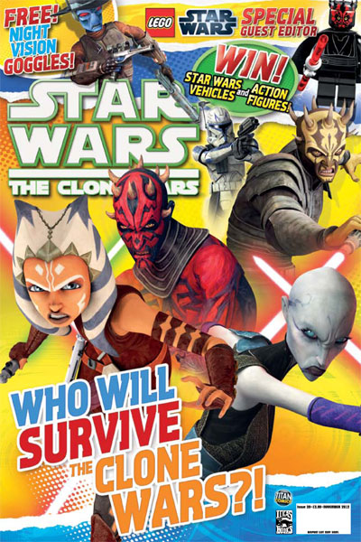 Star Wars: The Clone Wars Comic UK 6.39