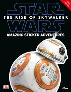 The Rise of Skywalker Amazing Sticker Adventures temporary cover