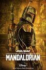 Boba Fett Char poster Mandalorian