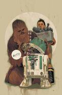 Star Wars Chewbacca 4 Textless Cover