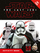 TLJ Activity book with stickers cnf cover