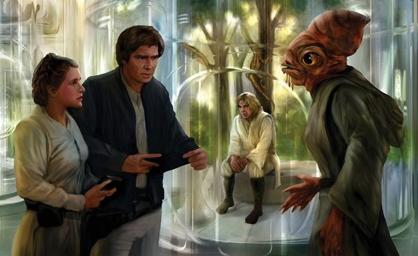 Jedi Temple Detention Center