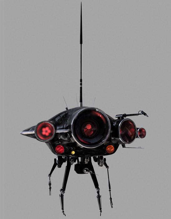 Prowler 1000 Exploration Droid