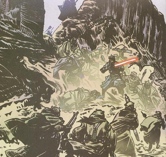 Ambush on Tatooine (Darth Maul)