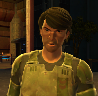 Unidentified Republic quartermaster (Taris)