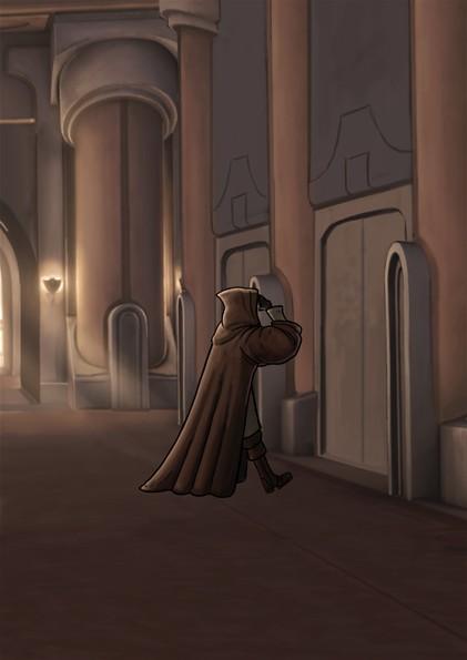 Jedi Temple dormitory