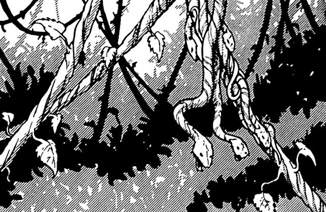 Vine snake/Legends