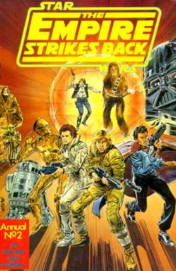 The Empire Strikes Back Annual 1981
