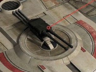 1D servo turret